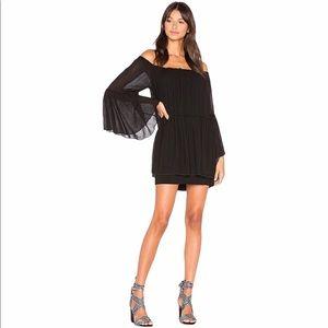 Bailey 44 Black Off the Shoulder Mini Dress Size S
